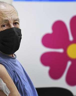 Itália tem 90% dos idosos com mais de 80 anos vacinados