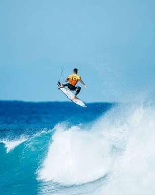 Risco de tufão preocupa Japão, mas anima surfistas dos Jogos