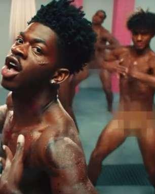 """Lil Nas X fez questão de ressaltar que é gay em """"Industry Baby"""""""
