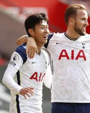 Tottenham renova contrato de Son e recusa nova oferta por Harry Kane