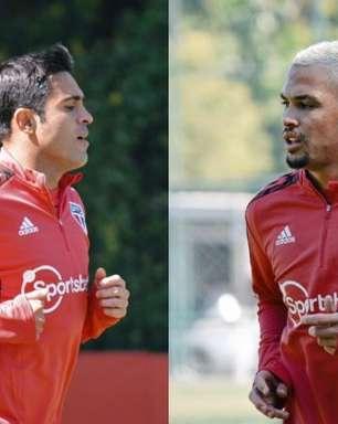 Luciano e Eder seguem em recuperação no São Paulo e fazem mais trabalhos de fisioterapia