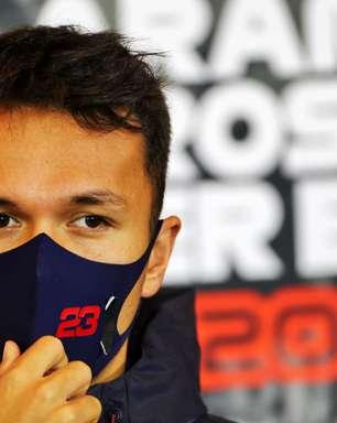 Albon diz que trabalho nos bastidores também é um aprendizado na F1
