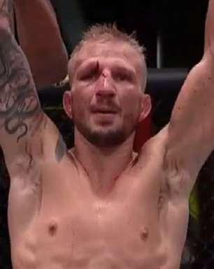 Em retorno, Dillashaw vence luta apertada contra Sandhagen no UFC Vegas 32; Raulian embala