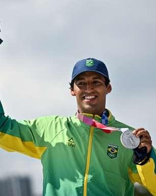 Primeiro medalhista do Brasil é torcedor do Santos e já foi atleta do clube