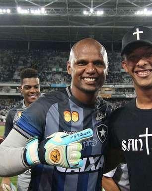 Jefferson exalta Diego Loureiro após vitória do Botafogo: 'Pegou muito'