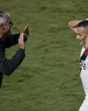Na estreia do técnico Lisca, Vasco goleia Guarani na Série B