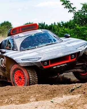 Audi terá elétrico com motor da Fórmula E no Rally Dakar