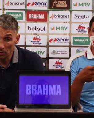 FORTALEZA: Vojvoda destaca pontos a serem melhorados na equipe de olho no confronto contra o CRB pela Copa do Brasil
