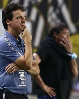 Fernando Diniz vê partida boa do Santos, mas lamenta falha no gol