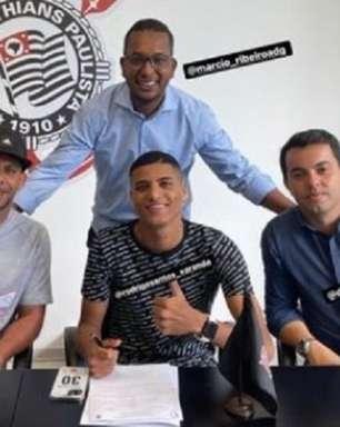 Corinthians renova com Rodrigo Varanda ; jovem deve ser negociado com o Red Bull Bragantino