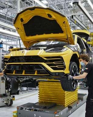 Lamborghini Urus bate recorde ao alcançar 15 mil unidades