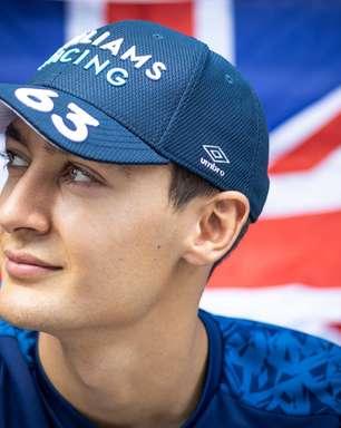 Russell diz que 'está em paz' com a impossibilidade de vencer na F1 no momento