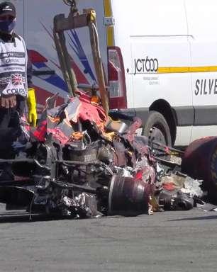 Red Bull afirma que motor de Verstappen em Silverstone sobreviveu a acidente