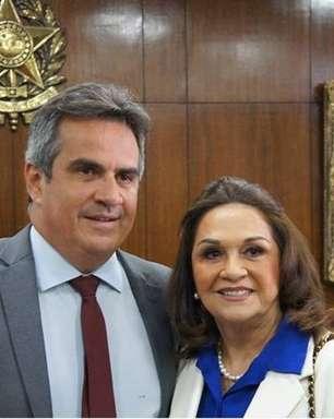 Mãe de Ciro Nogueira assume Senado e se diz 'espantada'