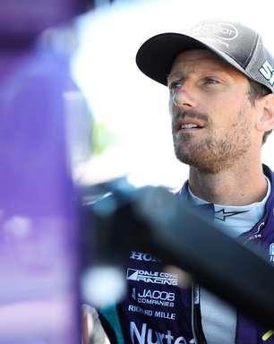 """Após teste, Grosjean diz que """"quem pensa que pilotar em oval é fácil está equivocado"""""""
