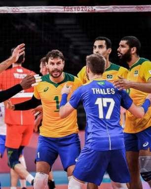 Vôlei: Seleção masculina perde para os russos e cai para terceiro no grupo B da Olimpíada de Tóquio