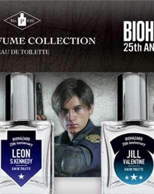 Capcom lança perfumes de Resident Evil no Japão