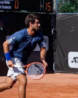 Orlando Luz vai à semi com Meligeni nas duplas em Trieste e tenta semi nas simples