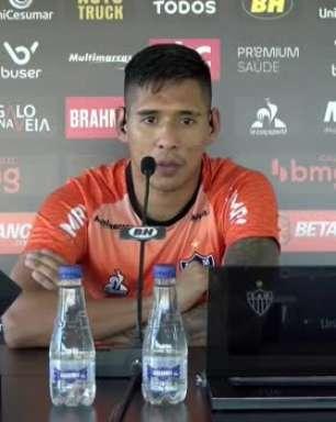 """ATLÉTICO-MG: Zaracho elogia Hulk e destaca o bom momento do atacante: """"É um jogador completo"""""""