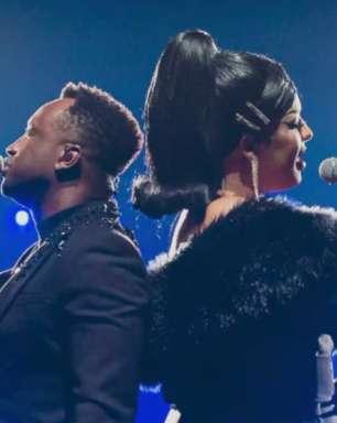 """Gloria Groove celebra parceria com Thiaguinho: """"Me recebeu com ousadia e alegria"""""""