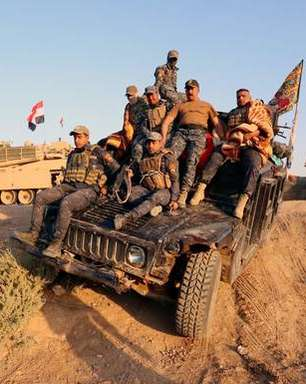 Helicóptero militar iraquiano é abatido em Kirkuk