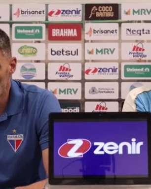 "FORTALEZA: Vojvoda analisa vitória de virada sobre o CRB pela Copa do Brasil: ""Tivemos caráter para conseguir marcar os dois gols"""