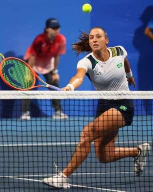 Luisa Stefani e Pigossi caem para suíças e lutam pelo bronze