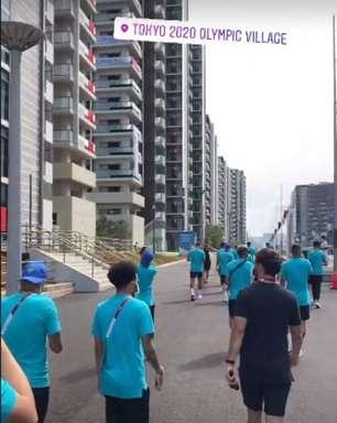 Seleção olímpica cancela treino e opta por descanso antes do duelo com o Egito, pelas quartas de finais