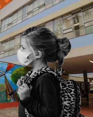 Volta às aulas: uso errado de máscara pode elevar casos de covid-19 em 1.000%