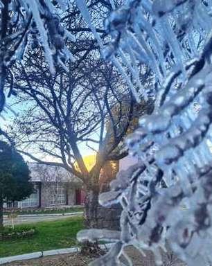 Com quase -9°C, serra de SC bate recorde de frio deste ano