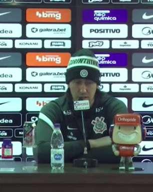 """CORINTHIANS: Cássio elogia momento do Flamengo, mas avisa: """"Corinthians tem uma camisa pesada"""""""