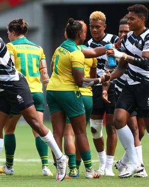 Brasil leva 41 a 5 de Fiji no rúgbi feminino e é eliminado