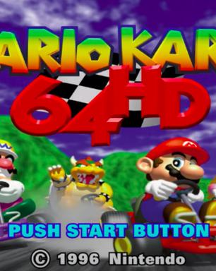 Mario Kart 64 ganha versão 4K criada por fã e rodada em emulador