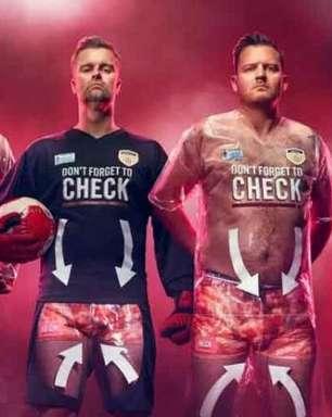 Confira uniformes de futebol curiosos