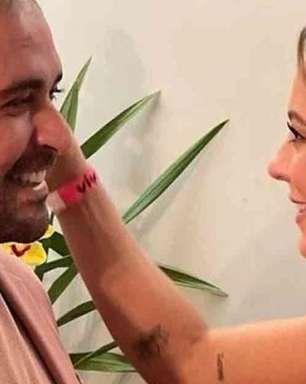 Paolla Oliveira e Diogo Nogueira trocam interação romântica nas redes