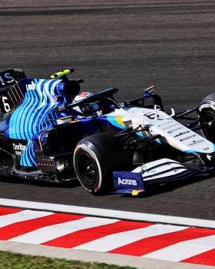 Russell e Latifi avaliam o desempenho da Williams F1 nos treinos do GP da Hungria