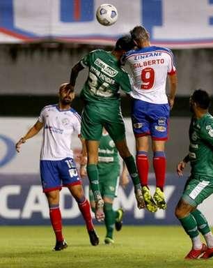 Bahia tenta quebrar duas marcas negativas em jogo contra o Sport