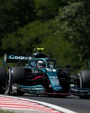 """Vettel aprova """"dia decente"""", mas prega melhora para sábado na Hungria: """"Vai ser crucial"""""""