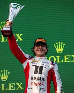Enzo Fittipaldi leva Brasil ao pódio com 2º lugar na etapa da Hungria de F3