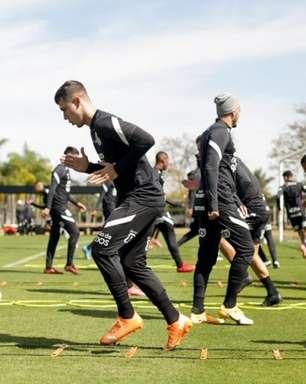 Ainda sem contar com os reforços, Corinthians encerra preparação para pegar o Flamengo