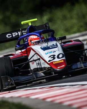 Enzo Fittipaldi larga na pole position na corrida 2 em Hungaroring