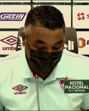 """FLUMINENSE: Roger compreende cobranças da torcida após derrota para o Criciúma no jogo de ida mas comemora: """"Revertemos a situação"""""""