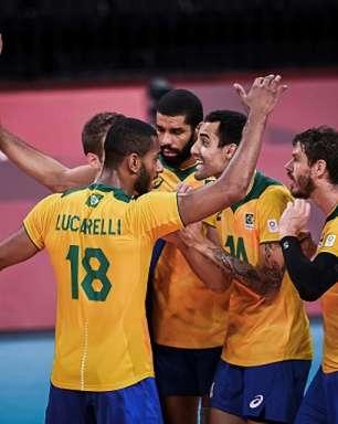 Brasil conhece o adversário nas quartas de final do vôlei masculino dos Jogos Olímpicos de Tóquio