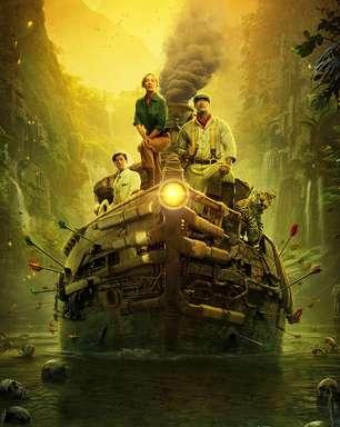 """""""Jungle Cruise"""" estreia abaixo de """"Viúva Negra"""" nos cinemas e no streaming"""