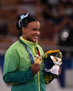 Com duas medalhas, Rebeca Andrade mira prova de solo: 'Sensação que quero levar para amanhã'