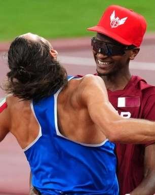 Olimpíada de Tóquio 2021: pela primeira vez desde 1912, dois competidores do atletismo dividem a medalha de ouro