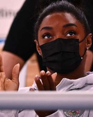 Olimpíada: Simone Biles anuncia desistência do solo