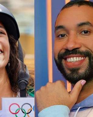 """Rayssa Leal, medalhista olímpica, bate papo com Gil do Vigor em """"live comemorativa"""""""