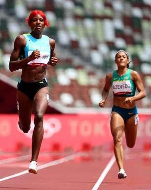 Brasileiras não avançam às semis nos 200m rasos em Tóquio