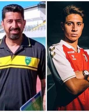 Wender e Yan Said comentam sobre o amor hereditário pelo futebol no Braga